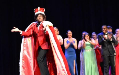 Mario Guerro celebrates after being named Mr. Whaler